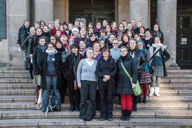 Bücherfrauen-Jahrestagung 2016: Gruppenfoto (© Heidi Wendelstein)