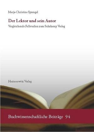 Cover Der Lektor und sein Autor Lektorenverband VFLL