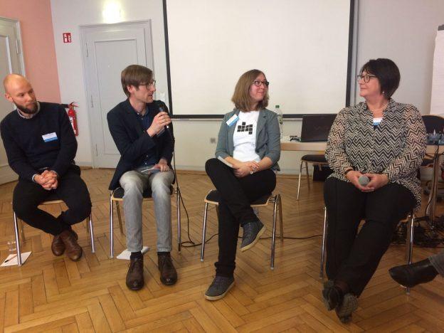 Diskussion Lektorenverband VFLL auf der future!publish