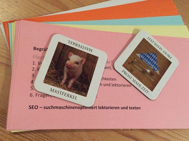 Im Workshop ging es vor allem darum, die Spielregeln der Suchmaschine, speziell die von Google, kennenzulernen und anzuwenden.