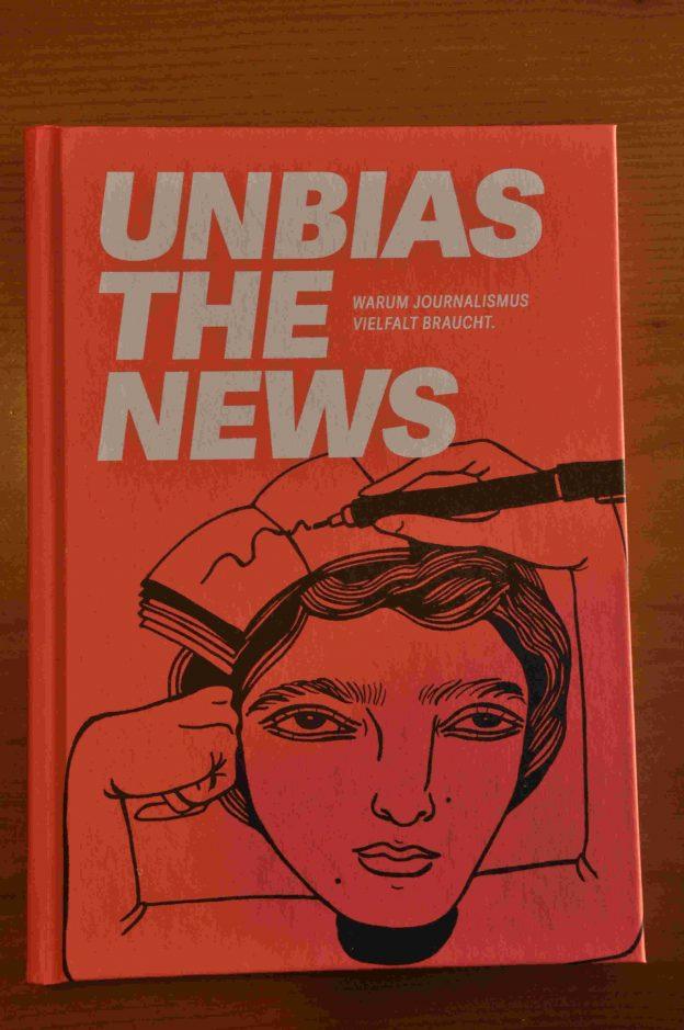 """Unbias the News"" (Coverfoto)"